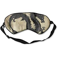 Sleep Eye Mask Black Dragons Chinese Lightweight Soft Blindfold Adjustable Head Strap Eyeshade Travel Eyepatch preisvergleich bei billige-tabletten.eu