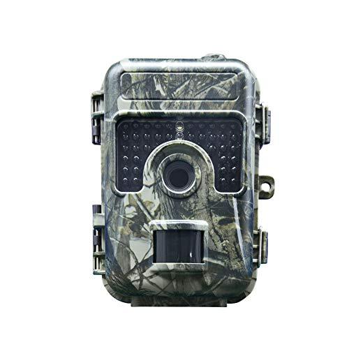 AW-SJ Mini Hunting Camera, Türkei 12MP Photo Resolution Cheating Coloration Night Vision Trail Camera 1080P Scout Wild Waterproof Hunter Camera (Camouflage) - Camera Hunter
