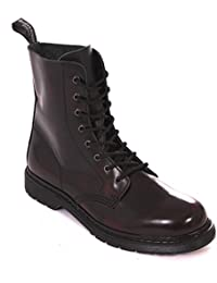 24aadcac59f79b Boots and Braces Easy Burgundy Boots 8 Holes Rangers Red Jumper ...