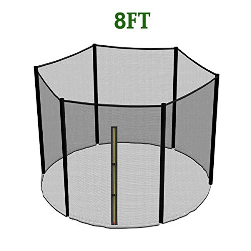 greenbay-replacement-trampoline-safety-net-enclosure-surround-netting-8ft