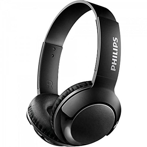 Cuffie auricolari On Ear Philips SHB3075BK/00 Cuffie auricolari On Ear Bluetooth (Bass+, senza cavi, Bluetooth, microfono, 12 ore di batteria) nero