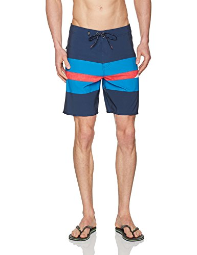 Vans Herren Badehose Ninety Three Boardshort Mehrfarbig (DRESS BLUES LKZ)