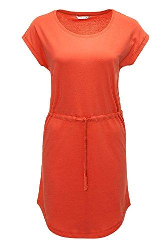 Only Damen Sommerkleid Jerseykleid Mini-Kleid (S, Bittersweet)