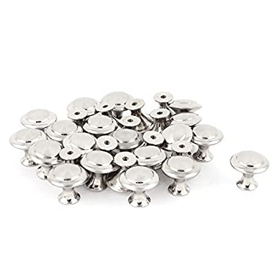 24mm Round Metal Cabinet Cupboard Door Drawer Pull Knob Handle 30pcs produced by Sourcingmap - quick delivery from UK.
