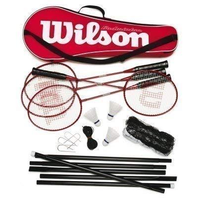 Wilson Tour Badminton-Set, Ideal für Anfänger-Ebene komplette Sets