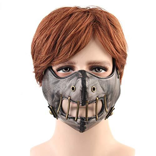 Fenical Modische Vintage Outdoor Motorrad Maske für Halloween Tanzparty - Der Joker Kostüm Classic