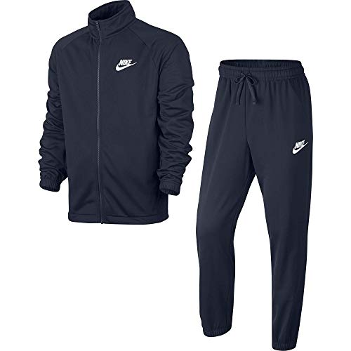 Nike, Sudadera para hombre, Azul Obsidian/White, M