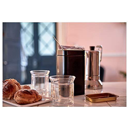 "Ikea TROLLPIL Coffee/Tea tin, 11x7x20 cm (4 Œx2 Ÿx7 Ÿ"")"