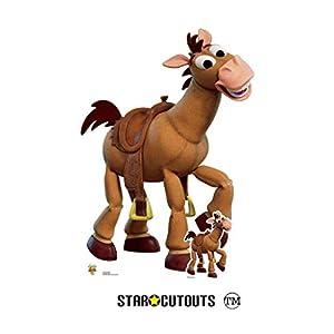 Star Cutouts SC1366 - Figura de caballo de juguete de tamaño real (134 cm de altura), diseño de caballo, multicolor