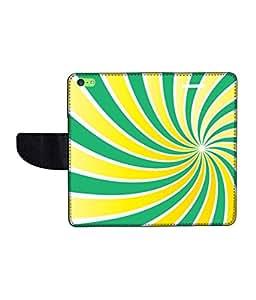 KolorEdge Printed Flip Cover For Apple IPhone 5C Multicolor -(43KeMLogo12114IPhone5C)