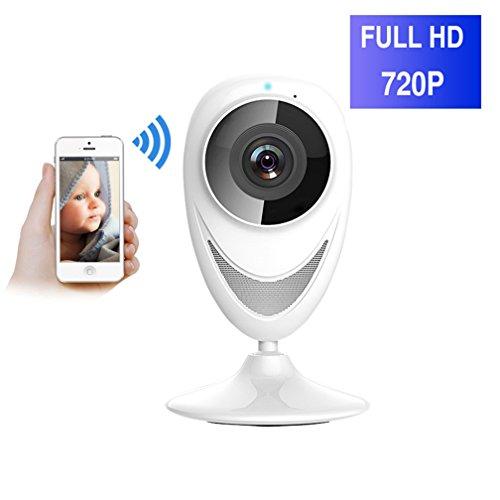 ShengyaoHul 720P HD Indoor Plug-And-Play Babyphone, 1 Mp Système De Sécurité Ip Home Camera / Vision Nocturne Infrarouge / Voix Bidirectionnelle / Télécommande Du Téléphone Mobile Surveillance Caméra
