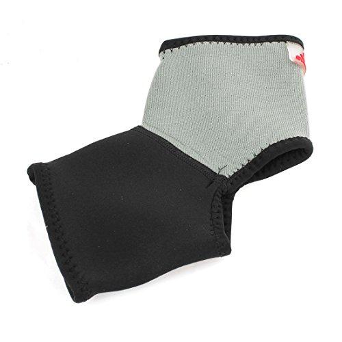 Schwarz Grau Sport-Schutz-Pullover Stil Knöchel Unterstützung Protector - Pullover Knöchel-unterstützung