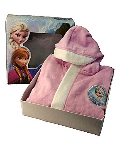 Disney Albornoz Frozen glicinas Esponja Algodón 37091años 2/3