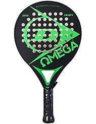 Dunlop Omega Pala de pádel, Unisex adulto, Verde, Única