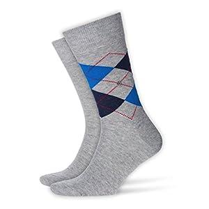 BURLINGTON Herren Socken Everyday – 80% Baumwolle, 2 Paar
