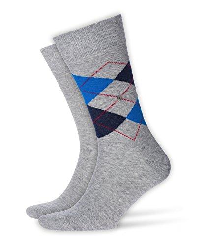 BURLINGTON Herren Everyday Socken - 2 Paar, Größe 40-46, versch. Farben, 80% Baumwolle - Weicher Baumwollstrumpf im Doppelpack in klassischen Farben -