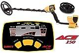 Pack détecteur de métaux GARRETT ACE 150 avec son protège disque 16 x 22...