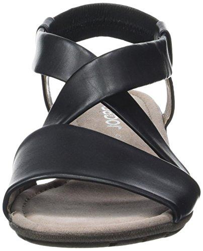 Gabor Fashion, Sandales Bout Ouvert Femme Noir (schwarz 27)