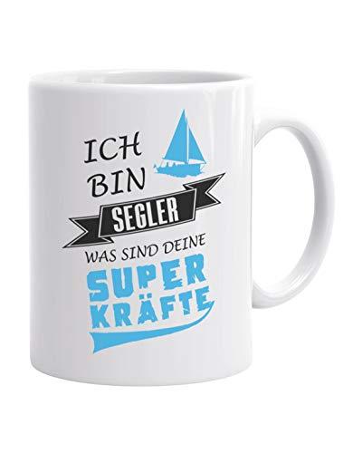 Jayess - segeln Kaffeebecher - Ich Bin Segler was sind Deine Superkräfte