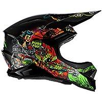Oneal 3SRS Helmet Crank 2.0 Multi S (55/56 cm) Casco Moto MX-Motocross, Adultos Unisex