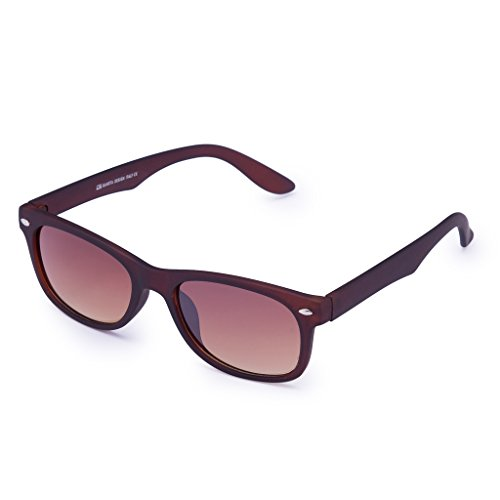 Gansta UV Protected Wayfarer Unisex Sunglasses(GN11090-Brn-Gd   50   Brown lens)