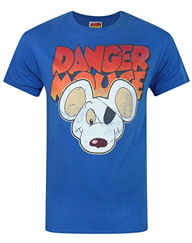 Herren - Official - Danger Mouse - T-Shirt (XL) (T-shirt Danger Mouse)