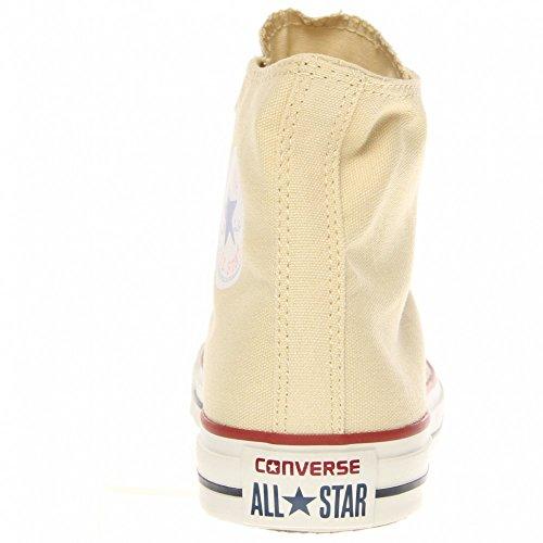 Converse Ctas Core Hi, Baskets mode mixte adulte Blanc (Crme)
