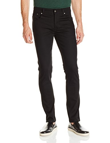 Nudie Jeans Unisex Jeans Grim Tim Black (Dry Cold Black)