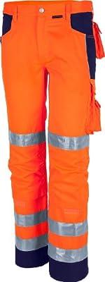 Qualitex Warnschutz-Bund-Hose Arbeits-Hose PRO MG 245 - mehrere Farben