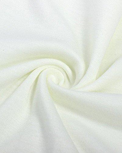 Moollyfox Donne Tops Senza Maniche Casuale Maglietta Camicetta Camicia Bluse Camicette Di Pizzo Vestiti Eleganti Donna Albicocca