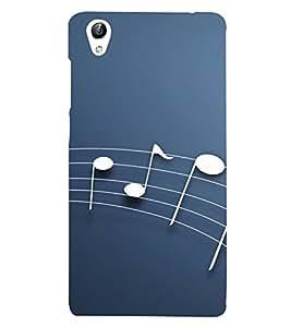 Music Sign 3D Hard Polycarbonate Designer Back Case Cover for vivo Y51 :: VivoY51L