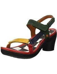 Art I BREATHE 998 Schwarz Schuhe Sandalen Sandaletten Damen 78