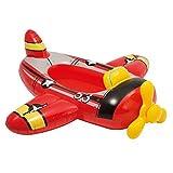 Lively Moments Aufblasboot / Babyboot / Babypool / Schwimmboot für Kinder bis 27 kg in Form Eines Flugzeug