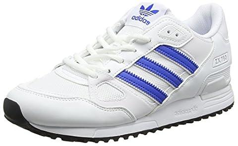 adidas Herren ZX 750 Sneakers, Elfenbein (Ftwr White / Blue / Core Black), 49 1/3 EU