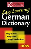 Collins Easy Learning German Dictionary (Collins Easy Learning German) (Easy Learning Dictionary)
