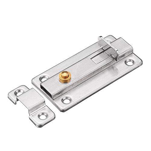 Wchaoen Edelstahl-automatischer Frühlingstür-Schieberiegel-Sperren-Bolzen-Diebstahlsicherungs-Hardware Werkzeugzubehör