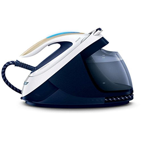 Philips GC9630/20 Perfect Care Elite Steam Generator Iron with Optimal Temperature and 420 g Steam Boost – Navy