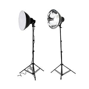Dörr i_373426 Lumière pour Appareil studio photo avec pieds source 4x24W