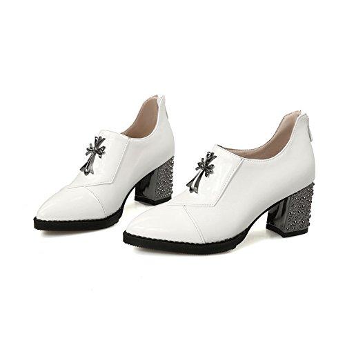 Adee pour femme Couleurs assorties givré Pompes Chaussures Blanc