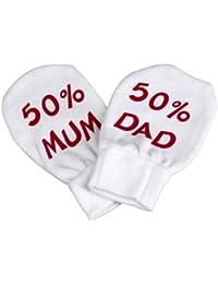 Spoilt Rotten - 50% Mum & 50% Dad Scratch Mittens