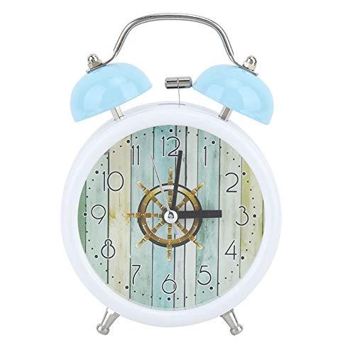 AUNMAS Reloj Despertador Moda Amanecer pequeño Digital