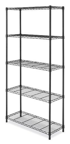 Whitmor 6070-5264 Supreme 5-Ebenen Regaleinheit, - Für Metall Rack Gefrierschrank