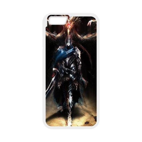Dark Souls coque iPhone 6 Plus 5.5 Inch Housse Blanc téléphone portable couverture de cas coque EBDXJKNBO15220