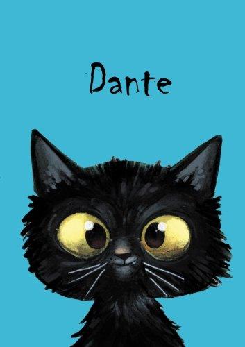 Dante: Dante - Katzen - Malbuch / Notizbuch / Tagebuch: A5 - blanko