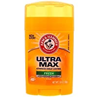 Arm & Hammer, UltraMax, Antiperspirant Solid Deodorant, FRESH, 1.0 oz (28 g)