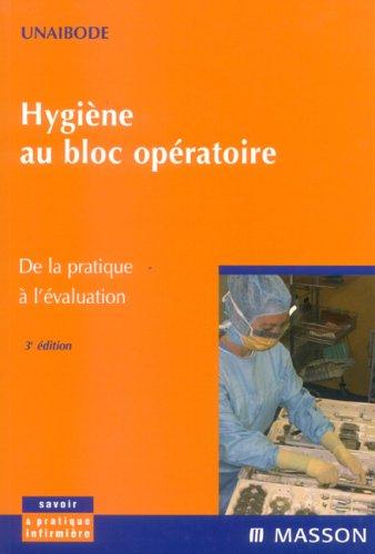 Hygiène au bloc opératoire: De la pratique à l'évaluation