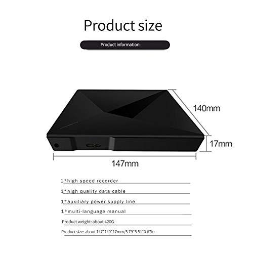 Grabadora de DVD externa USB 3.0