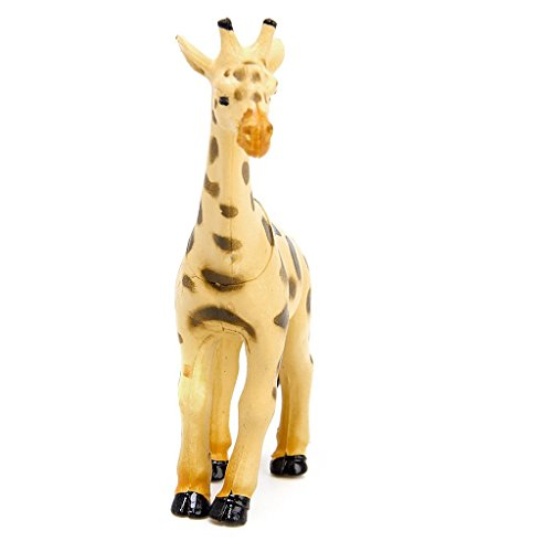 6 Stück Kunststoff Wild Tiere Spielzeug Modell - 4
