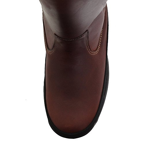 Botte En Cuir De Hunter Balmoral Waxed Tan