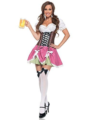 Kostüm Oktoberfest Sexy Girl - Sexy Swiss Girl Damen Kostüm, M0022-L
